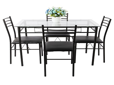 cosy-glass-dining-sets-4-chairs-for-vecelo-dining-table-with-4-chairs-black-kitchen-dining-of-glass-dining-sets-4-chairs